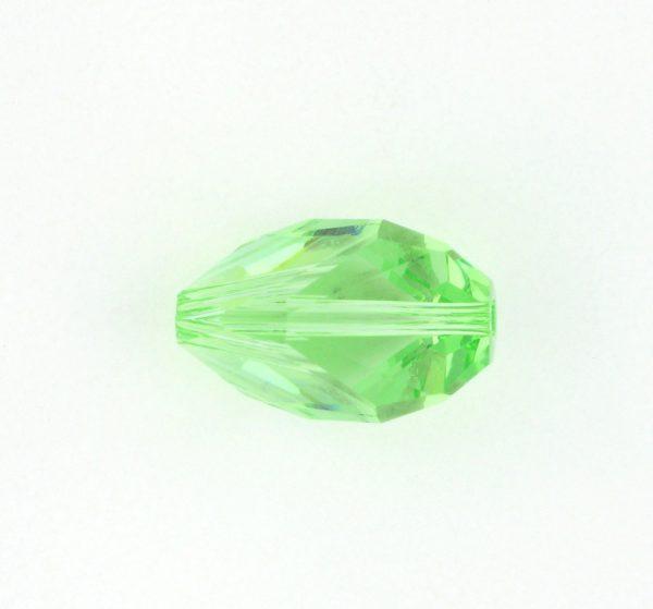 5650 - 12x8mm Swarovski Cubist Crystal Bead - Peridot