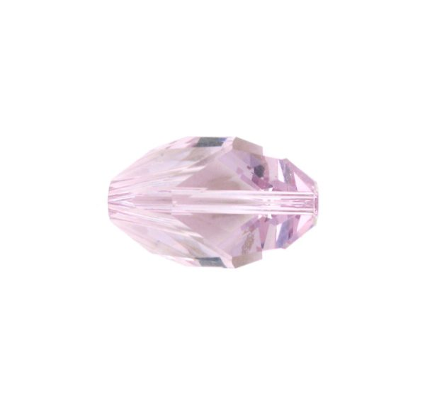5650 - 12x8mm Swarovski Cubist Crystal Bead - Light Amethyst