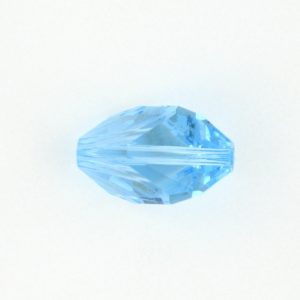 5650 - 16x10mm Swarovski Cubist Crystal Bead - Aquamarine