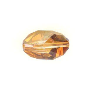 5650 - 16x10mm Swarovski Cubist Crystal Bead - Copper
