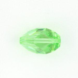 5650 - 16x10mm Swarovski Cubist Crystal Bead - Peridot