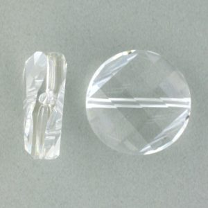 5621 - 14mm Swarovski Twist Crystal Bead - Crystal
