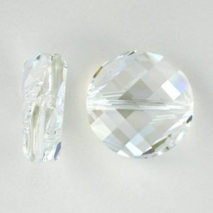 5621 - 14mm Swarovski Twist Crystal Bead - Moonlight