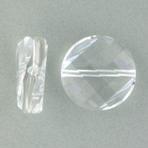 5621 - 22mm Swarovski Twist Crystal Bead - Crystal