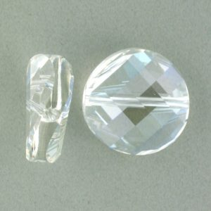 5621 - 22mm Swarovski Twist Crystal Bead - Moonlight