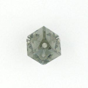 5600 - 4mm Swarovski Diagonal Square Bead - Black Diamond
