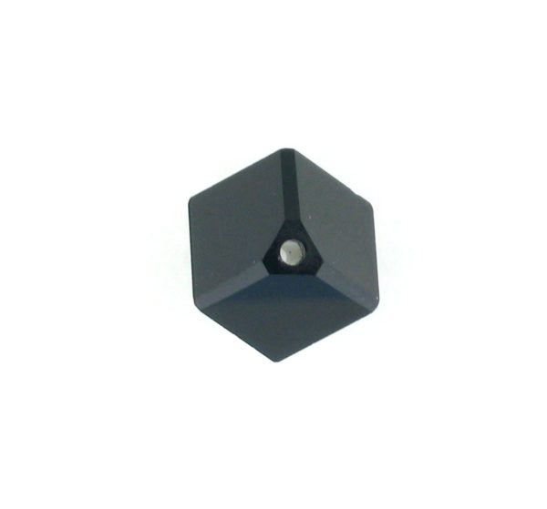 5600 - 4mm Swarovski Diagonal Square Bead - Jet