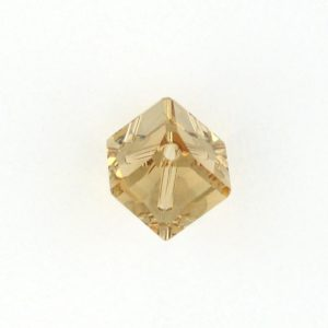 5600 - 6mm Swarovski Diagonal Square Bead - Light Colo.Topaz