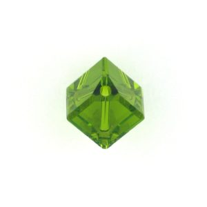 5600 - 6mm Swarovski Diagonal Square Bead - Olivine