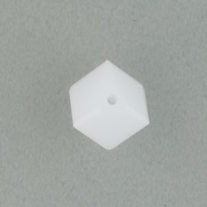 5600 - 6mm Swarovski Diagonal Square Bead - White Alabaster