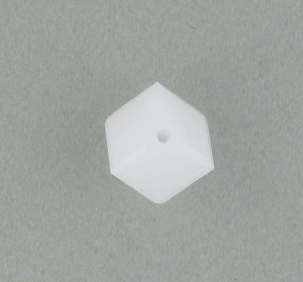 5600 - 6mm Swarovski Diagonal Square Bead - White Alabaster