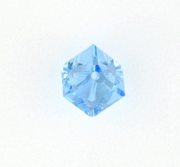 5600 - 6mm Swarovski Diagonal Square Bead - Aquamarine