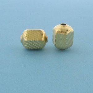 1050 - 9x11.2mm Gold Filled Fancy Bead