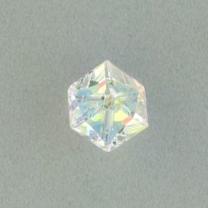 5600 - 8mm Swarovski Diagonal Square Bead - Crystal AB