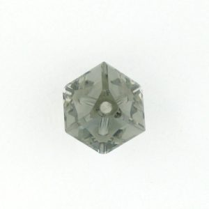 5600 - 8mm Swarovski Diagonal Square Bead - Black Diamond