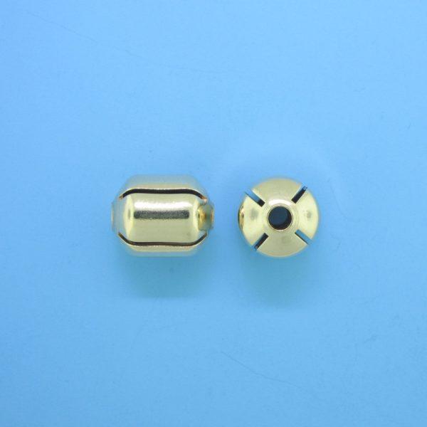 1053 - 6x8.5mm Gold Filled Fancy Bead
