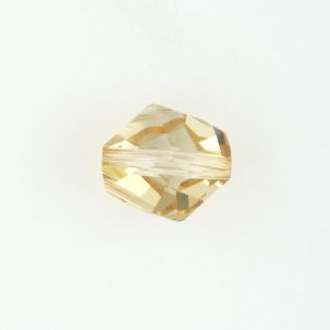5523 - 12mm Swarovski Cosmic Crystal Bead - Golden Shadow