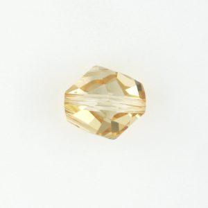 5523 - 16mm Swarovski Cosmic Crystal Bead - Golden Shoadow