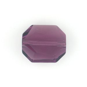 5520 - 12mm Swarovski Graphic Crystal Bead - Amethyst