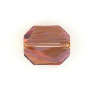 5520 - 12mm Swarovski Graphic Crystal Bead - Copper