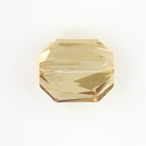 5520 - 12mm Swarovski Graphic Crystal Bead - Golden Shadow