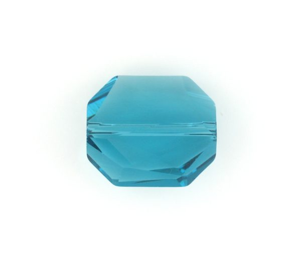 5520 - 12mm Swarovski Graphic Crystal Bead - Indicolite