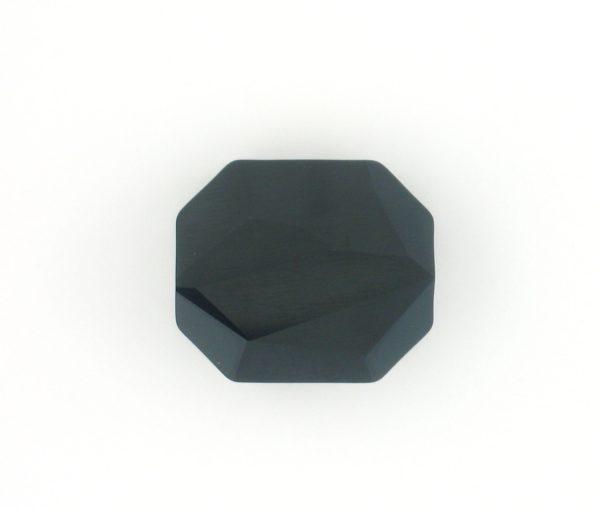 5520 - 12mm Swarovski Graphic Crystal Bead - Jet