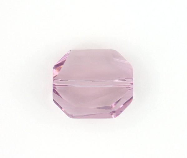 5520 - 12mm Swarovski Graphic Crystal Bead - Light Amethyst