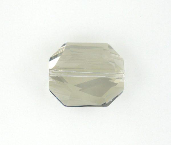5520 - 12mm Swarovski Graphic Crystal Bead - Silver Shade