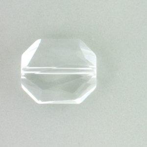 5520 - 18mm Swarovski Graphic Bead - Crystal