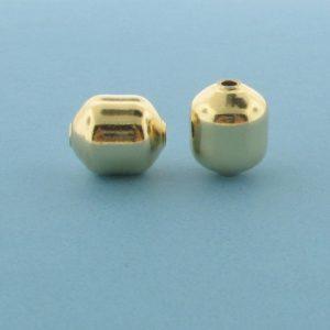1062 - 8.5x10mm Gold Filled Fancy Bead