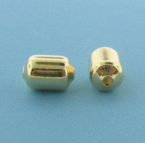 1063 - 8x11.5mm Gold Filled Fancy Bead