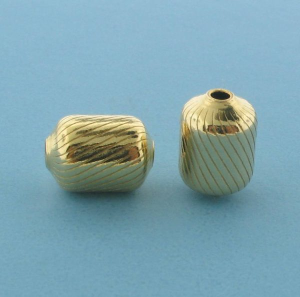1064 - 8x11.5mm Gold Filled Fancy Bead