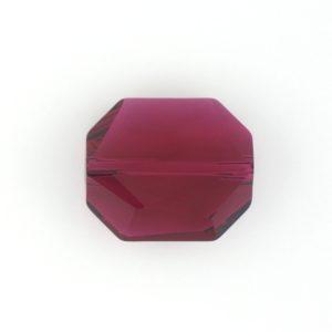 5520 - 18mm Swarovski Graphic Bead - Ruby
