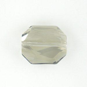 5520 - 18mm Swarovski Graphic Bead - Silver Shade