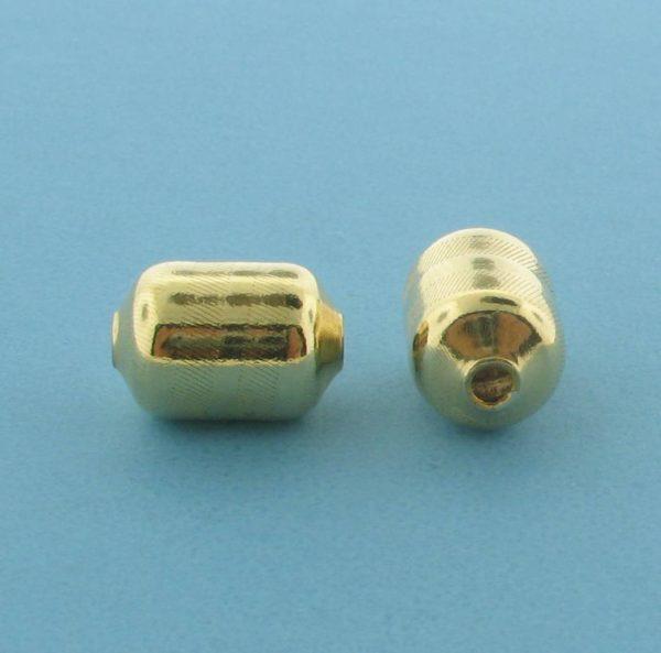 1066 - 8x11.5mm Gold Filled Fancy Bead