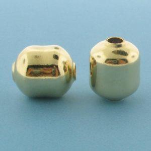 1067 - 11x13.2mm Gold Filled Fancy Bead