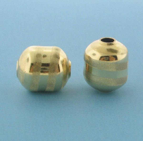1070 - 11x13.2mm Gold Filled Fancy Bead