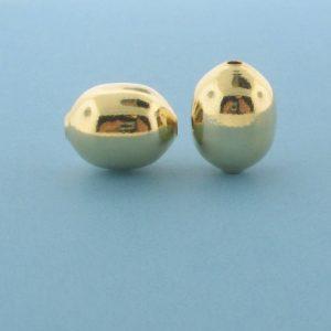 1071 - 10x13.5mm Gold Filled Fancy Bead