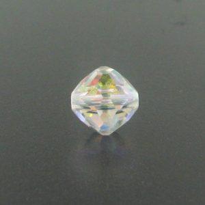 5309/1 - 4mm Swarovski Rounded Bicone - Crystal AB