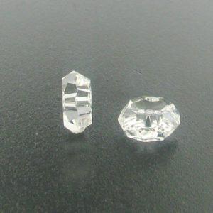 5308 - 8mm Swarovski Faceted Rondelle - Crystal