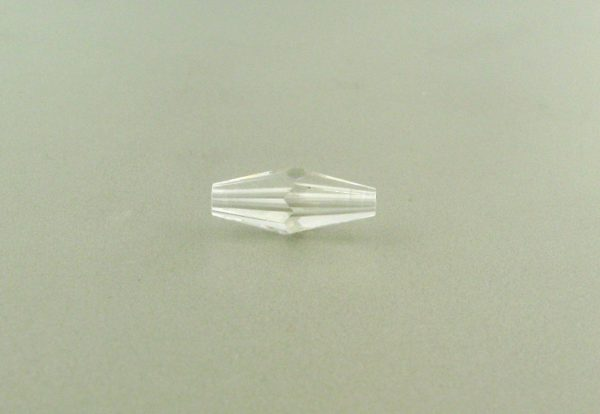 5205 - 15x6mm Swarovski Long Bicone Bead - Crystal