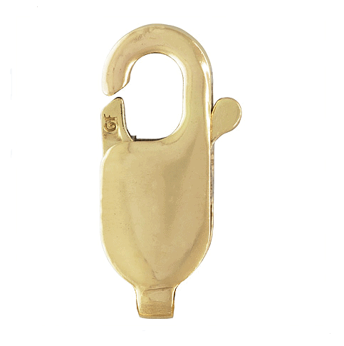 345 - 4x10mm Gold Filled Lobster Clasp