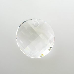 6621 - 28mm Swarovski Twist Pendant - Crystal