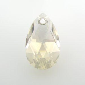 6106 - 16mm Swarovski Pear Shaped Pendant - Silver Shade