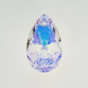 6106 - 22mm Swarovski Pear Shaped Pendant - Crystal AB