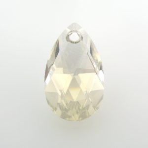 6106 - 28mm Swarovski Pear Shaped Pendant - Silver Shade