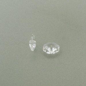 3700 - 14mm Swarovski Margarita Bead - Crystal (Foiled)