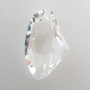 6656 - 27mm Swarovski Galactic Vertical Pendant - Crystal