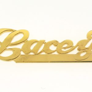 # 9614 - 14K Gold Filled Name Plate For Necklace - Lacey